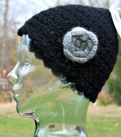 Photo of Crochet flower hat