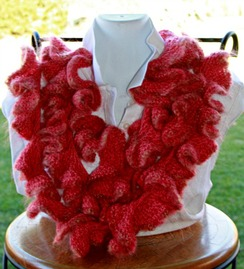 Photo of Ruffled mohair