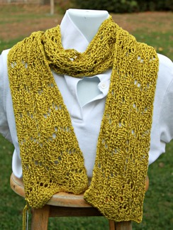 Photo of Spun Gold scarf