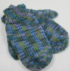 Photo of Icelandic mittens