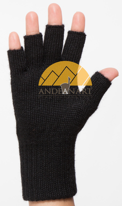 Photo of Fingerless Classic Alpaca Gloves