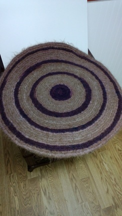 Photo of Rug - Felted