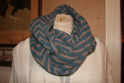 Photo of Chevron Infinity Scarf