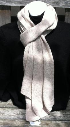 Photo of Jersey Rib-Edge Scarf