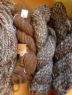 Photo of Handspun Alpaca Yarn -