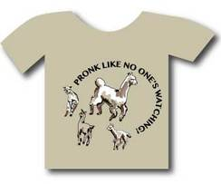 Photo of Tee Shirt - Pronk Like No One's Watching