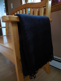 Photo of Alpaca throw - Black