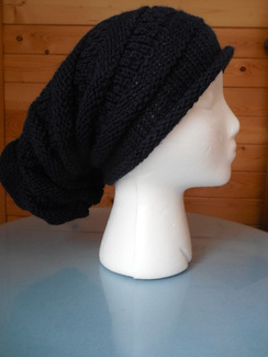Photo of Slouchy beanie hat