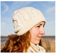 Photo of Hat: Cable Knit Beanie