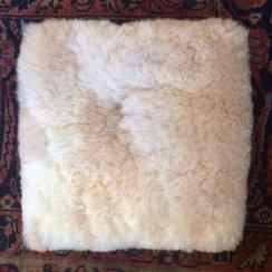 Photo of 100% Alpaca Fur Square Pillow Cover-11''