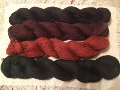 Photo of Dyed 3-ply DK yarn
