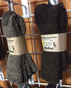 Photo of Alpaca Survival Socks - Medium
