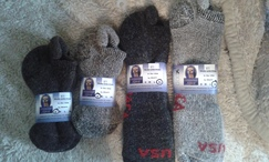 Photo of Ankle socks - USA fiber USA made