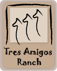 Tres Amigos Ranch - Logo