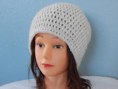Photo of  100% Alpaca Crocheted Beanie hat