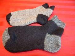 Photo of Alpaca Slipper Bootie Socks