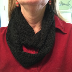 Photo of 100% Alpaca Small Infinity Scarf