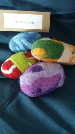Try a Felted Soap Class