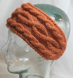 Photo of Cabled headband