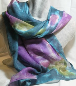 Photo of Lily Pad scarf/shawl