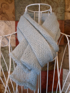Photo of Light & Lacey Sky Blue Scarf SOLD!!!