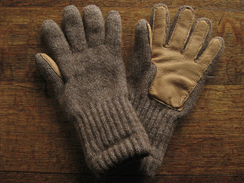 Photo of Alpaca Driving Glove with Leather Palm