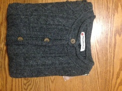 Photo of Women's brushed cable cardigan