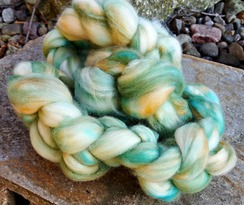 Photo of Majestic Merino green blend