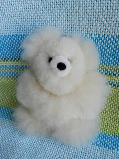 "Photo of Tiny 5.5"" Premium Alpaca Teddy Bear"