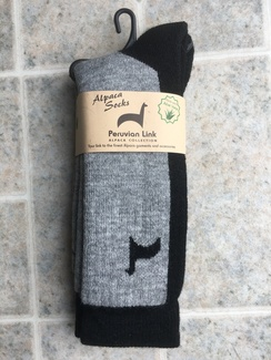 Photo of Alpaca Hiker Socks