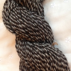 "Photo of Hand Spun Alpaca Yarn ""Jamuna and Ultima"