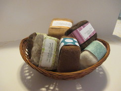 Photo of HAND-CRAFTED FELTED SOAP