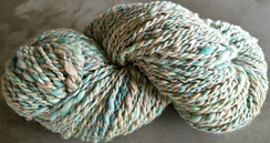 Photo of Jewels homespun yarn