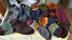 Photo of Handcrafted Alpaca Socks