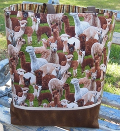 Photo of Tote Bag - Alpaca Print