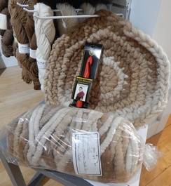 Photo of Crochet Your Own Alpaca Kitty Bed Kit