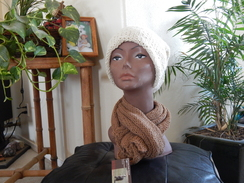Photo of Double knitted slouch hat