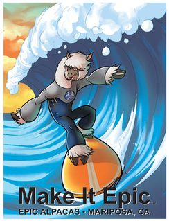 Photo of T-shirt - Make It Epic - Surfing
