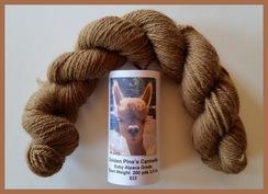 Photo of Baby Alpaca Yarn Medium Fawn 200 Yds.
