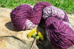 Photo of Purple Gradient Yarn