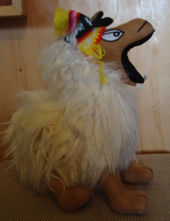 Photo of Laughing Llama Stuffed Plush Toy