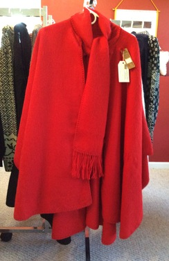 Photo of Unlined Alpaca Cape