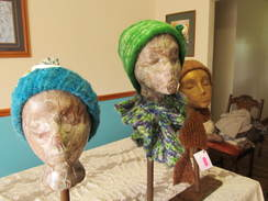 Photo of Alpaca Blue Varigated Childs Hat