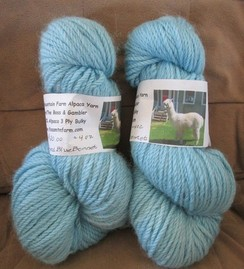 Photo of Dyed Alpaca Yarn from Gambler & The Boss