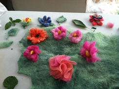 Photo of Felted Flowers