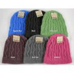 Photo of Cable Knit Alpaca Hat