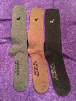 Photo of Alpaca Socks, Large