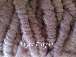 Photo of Yarn: Rug Yarn Dyed Light Purple