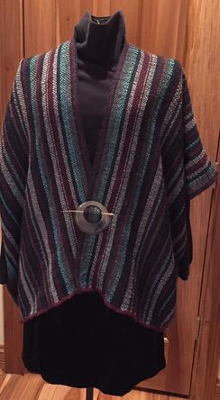 Photo of Alpaca Ruana or Shawl - SOLD!