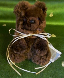 Photo of TOYS: TEDDY BEAR - Baby fine alpaca!